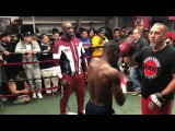 Guillermo Rigondeaux work out
