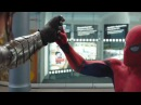 Civil War Spider-Man Fights Winter Soldier