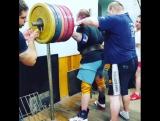Тимур Гадиев - присед 380 кг в бинтах