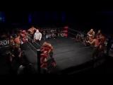 2015.05.14 Young Bucks, AJ Styles, Doc Gallows  Karl Anderson vs Hanson, Raymond Rowe, Roderick Strong, Jay  M