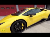 Lamborghini Huracan Performante 2017, la pi