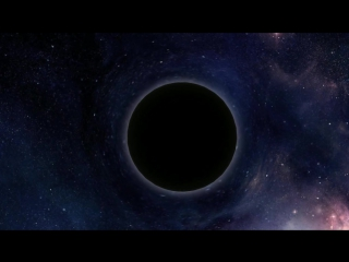 Искривление пространства времени, Черной дырой
