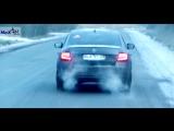 NeX® Skoda Octavia A7.ЭКСКЛЮЗИВ! - Глушитель раздвоенный с 4-мя насадками. В ФОКУСЕ!