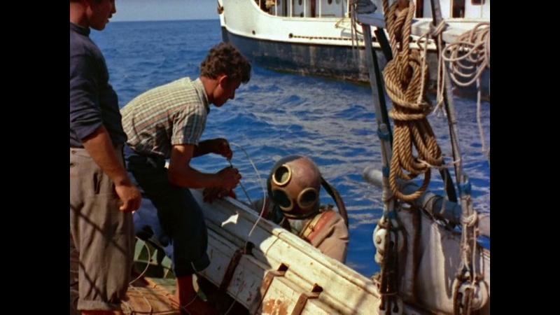 Одиссея Жака Кусто: Мир тишины 1956, Италия, Франция, документальный фильм