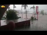 Мощный шторм обрушился на ЮАР, Дурбан. Град с яйцо, наводнение и ливень