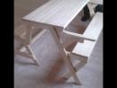 скамейка-стол трансформер