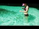 Сегодня были на о. Пода и кормили рыбок 😃 Они совсем не боятся людей 💙 poda aonong красотаприроды thailand море krabi @ K