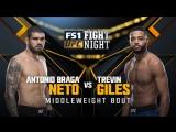UFC FIGHT NIGHT FRESNO Antonio Braga Neto vs Trevin Giles