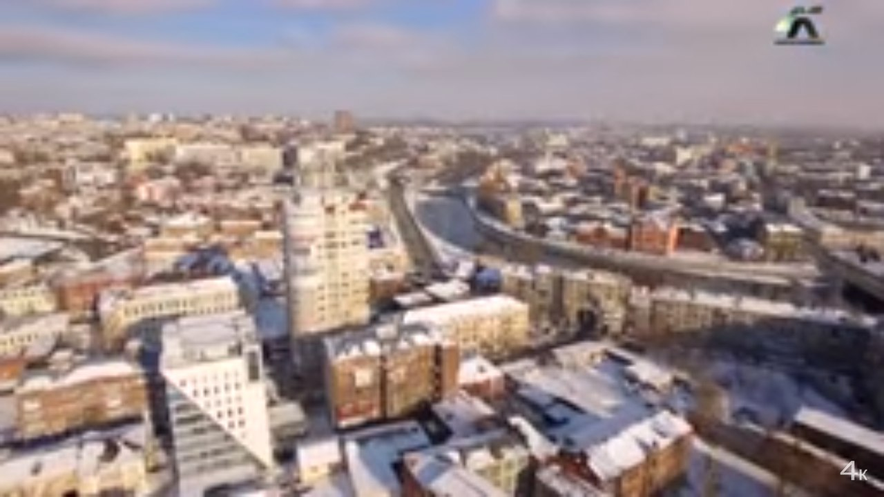 Жителям Харькова показали красоту их города с высоты (ВИДЕО)