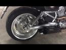 Harley Davison v-rod Acrapovic exhaust