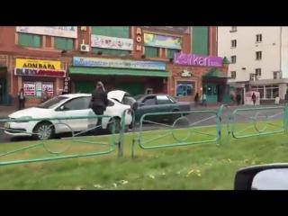Авария на Ауэзова - Усть-Каменогорск