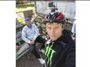 Проехал на велосипеде 80 км.Очаков-Одесский поворот-Очаков.