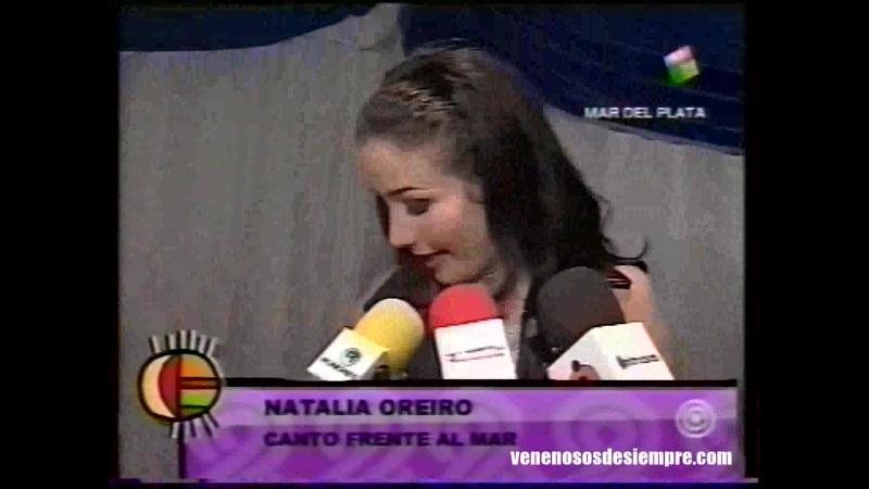 Natalia Oreiro Entrevista en Movete 2001 Desde Mar del plata