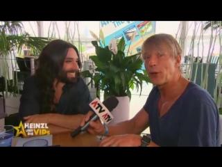 Conchita Wurst interview, 05-08-2017