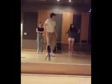 СуМин, Зело и ЫйДжин танцуют под Bubble pop