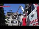 Спасатели МЧС ликвидируют последствия обстрелов ВСУ поселка Донецк-Северный Ясин