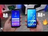 Samsung Galaxy A8 And A8+ (2018) - First Look Hands-On Review Video