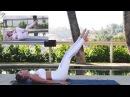 Rebecca Louise Abs Workout Belly Fat Ребекка Льюис Тренировка кора на полу