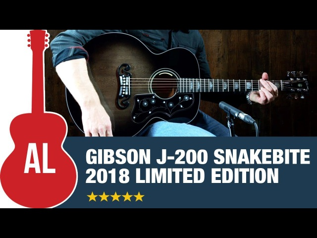Gibson J-200 Snakebite Limited Edition