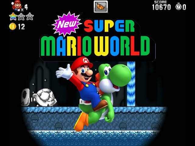 (SMBX) New Super Mario World parte 42 - A Caverna escura! (Secret Exit)