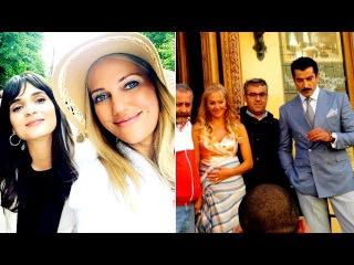 Kenan İmirzalıoğlu & Meryem Uzerli film çekimleri St. Petersburg'da