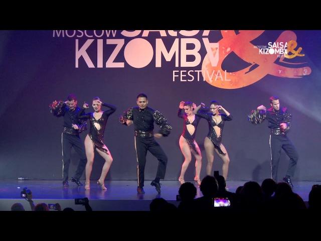 MSKFest 2017 - Adolfo, Tania Latin Soul Dancers (Peru - Sri Lanka - Italy)
