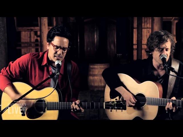 Luke Sital-Singh e Iain Archer ao Vivo no Bushmills Live 2014