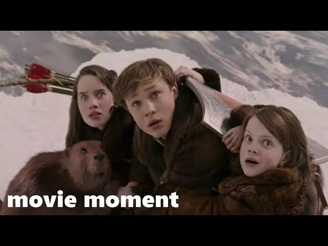 Хроники Нарнии Лев колдунья и волшебный шкаф 2005 На тающем озере 8 13 movie moment