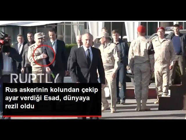 Esadı Putine Yaklaşamadan Askerler Yakaladı