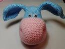 Очаровательный ослик, ч.1. Charming donkey , р. 1. Amigurumi. Crochet.