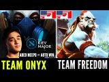 Onyx Abed Imba Meepo Vs Team Freedom Kiev Major NA Qualifiers Dota 2 (Players Perspective)