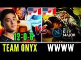 Onyx Abed Invoker Vs WWWW Kiev Major NA Qualifiers Dota 2 (Players Perspective)