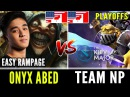 Onyx Abed Meepo Rampage Vs Team NP [Kiev Major NA Qualifiers] Dota 2