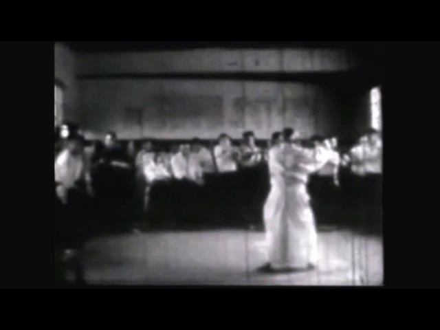 Aikido warm up exercises by Morihei Ueshiba O Sensei