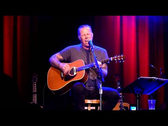 James Hetfield performing