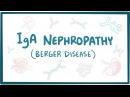 IgA nephropathy (Berger disease) - causes, symptoms, diagnosis, treatment, pathology