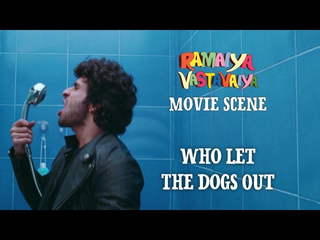Who Let The Dogs Out - Ramaiya Vastavaiya Scene - Girish Kumar Shruti Haasan
