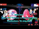 MLB The Show 17 New York Yankees vs. Boston Red Sox Predictions #MLB (16th July 2017)