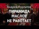 Пирамида Маслоу Екатерина Наумова и Андрей Курпатов
