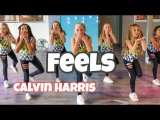 Feels - Calvin Harris - Cover by RoadTrip TV - Easy Kids Dance Choreography - Katy Perry - Pharell