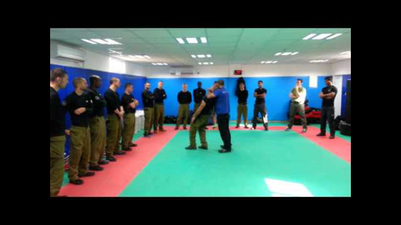 Training a special unit of the Prison Service