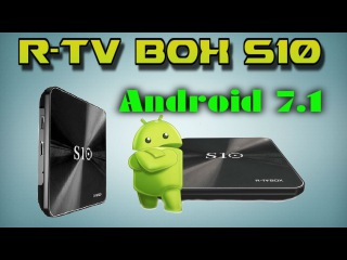 R-TV BOX S10 Android 7.1 DDR4 3 + 32GB Amlogic S912 Android TV Box