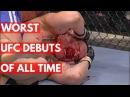 TOP 5: Worst UFC Debuts Of All Time top 5: worst ufc debuts of all time