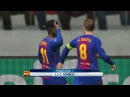 Barcelona vs Juventus / UEFA Champions League 2017 / Gameplay PES