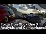 [4K] Forza Motorsport 7: Xbox One X Analysis + Forza 6 PC/Xbox One Graphics Comparison