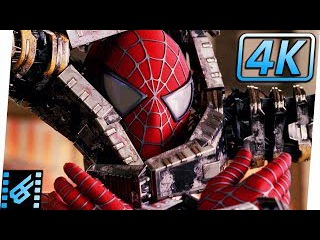 Spider-Man vs. Doctor Octopus Bank Fight (Extended) | Spider-Man 2 (2004) Movie Clip