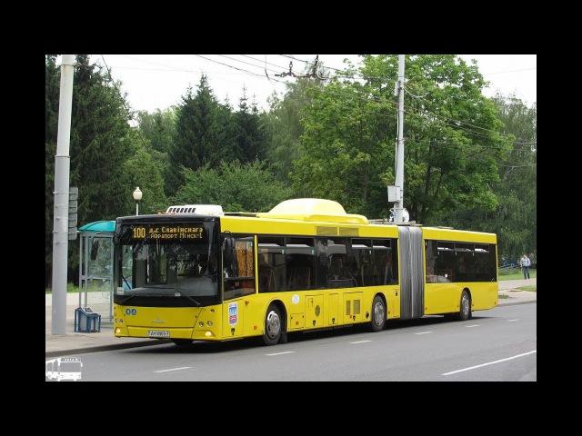 Поездка на автобусе МАЗ-215,гос.№ АН 8969-7