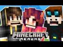 2 МАЙНКРАФТ с ПОДПИСЧИКАМИ - Выживание в Minecraft PE с Папой по Сети :) НУБик против НУБа