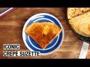 French Crêpe Suzette Alcohol Free Version Pancake Day