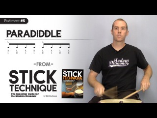 Top-10 Rudiments, Part 4: Paradiddles (Video Drum Lesson from Modern Drummer magazine)